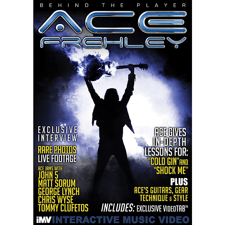 IMV Ace Frehley Behind the Player DVD