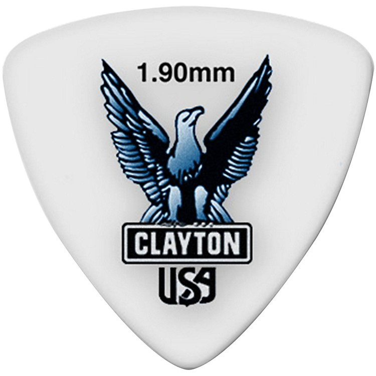Clayton Acetal Rounded Triangle Guitar Picks
