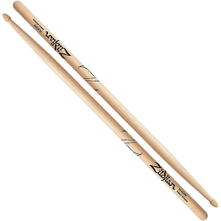 Zildjian Acorn Tip Drumsticks Wood 5A Natural Finish