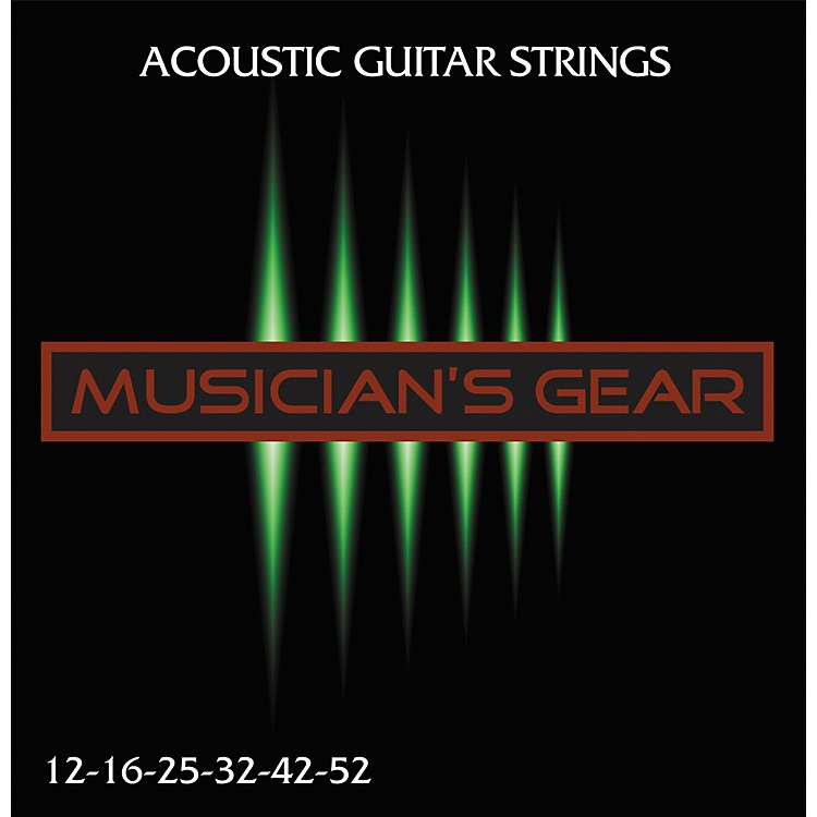 Musician's GearAcoustic 12 80/20 Bronze Acoustic Guitar Strings