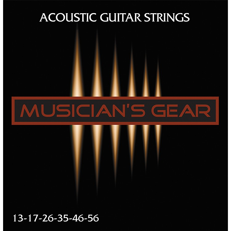 Musician's Gear Acoustic 13 80/20 Bronze Guitar Strings