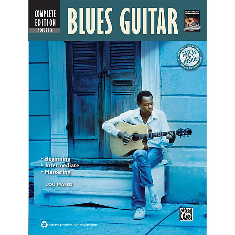 AlfredAcoustic Blues Guitar Method Complete Book with CD/DVD