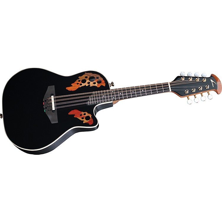 OvationAcoustic-Electric Cutaway Mandolin with Case