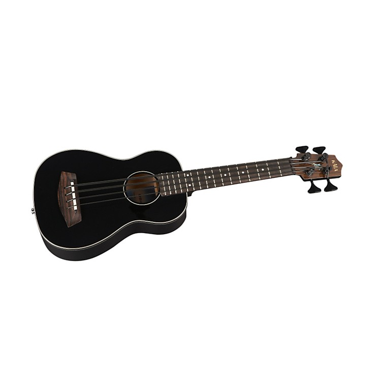 Kala Acoustic-Electric Spruce Top U-Bass Gloss Black Solid Spruce Top, Mahogany Back and Sides