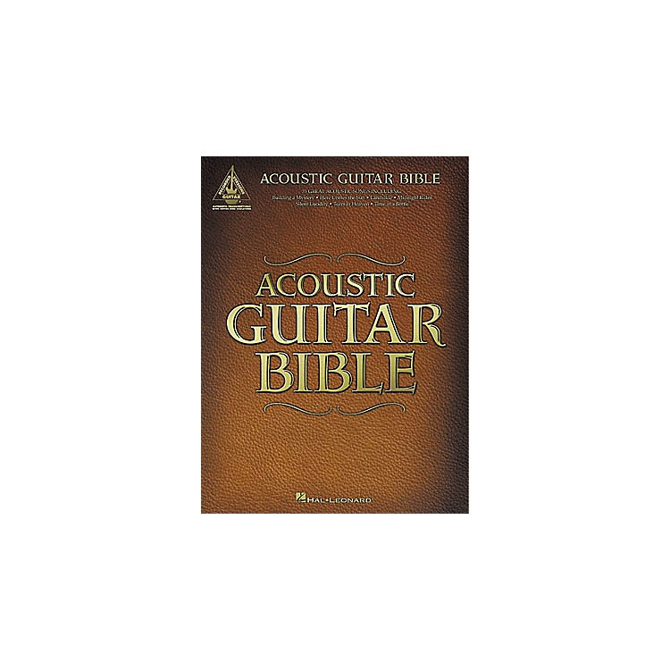 Hal LeonardAcoustic Guitar Bible Tab Songbook