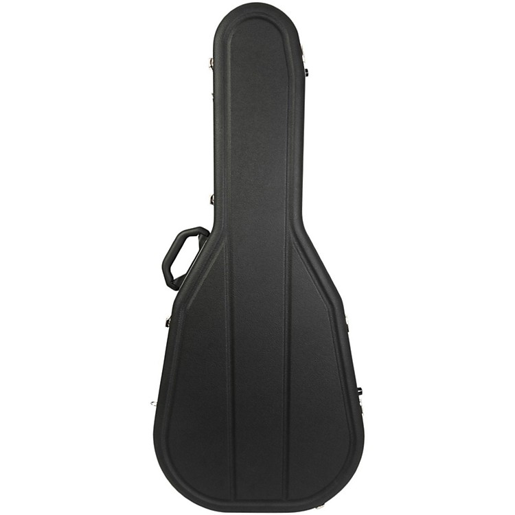 Hiscox CasesAcoustic Guitar Case/Dreadnght Black Shell/Silver Int-Pro II