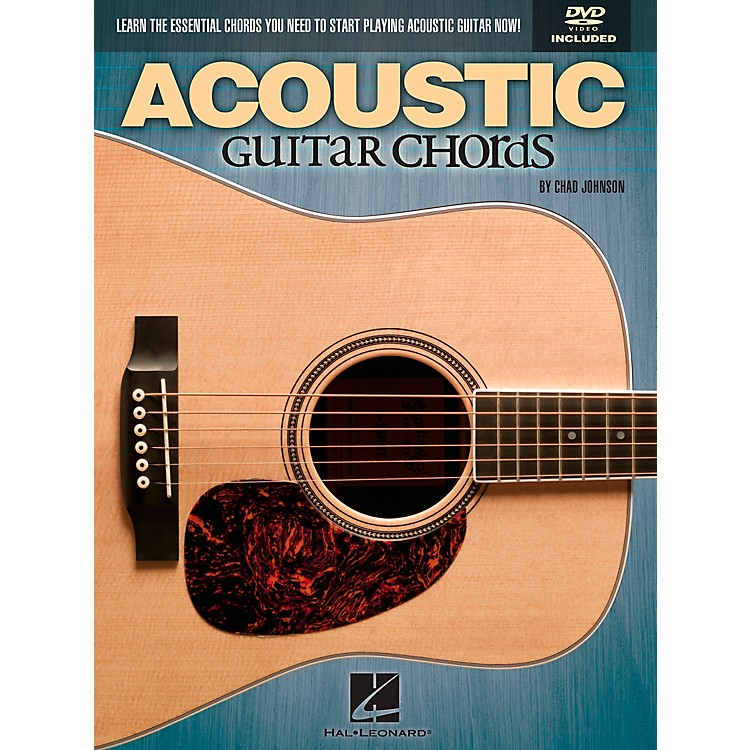 Hal LeonardAcoustic Guitar Chords Learn the Essential You Need Book & DVD