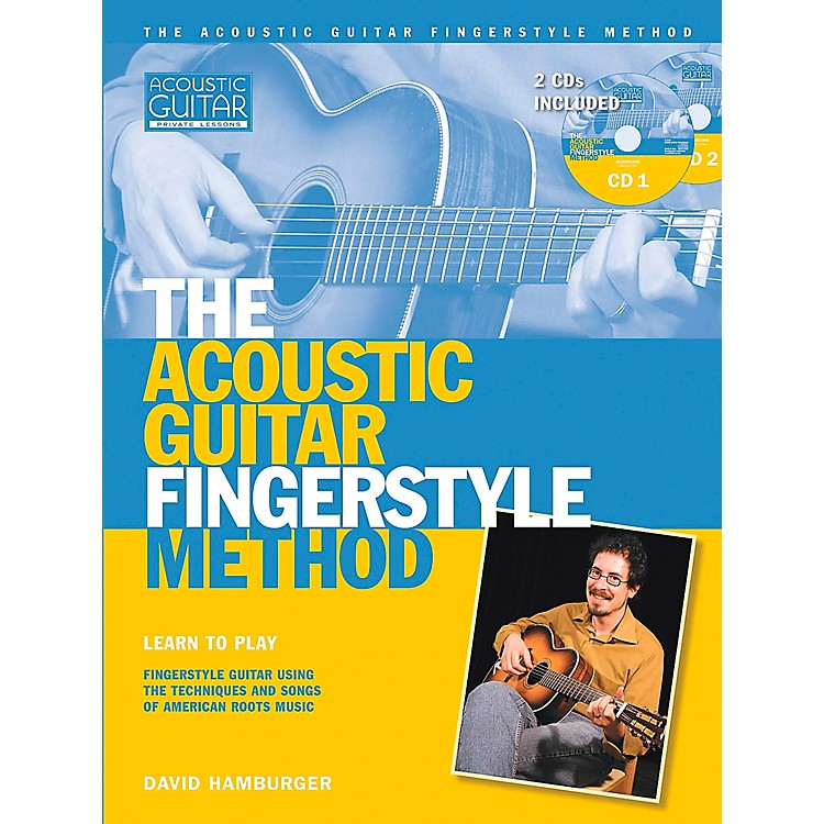 Hal Leonard Acoustic Guitar Fingerstyle Method Book with 2 CD Set