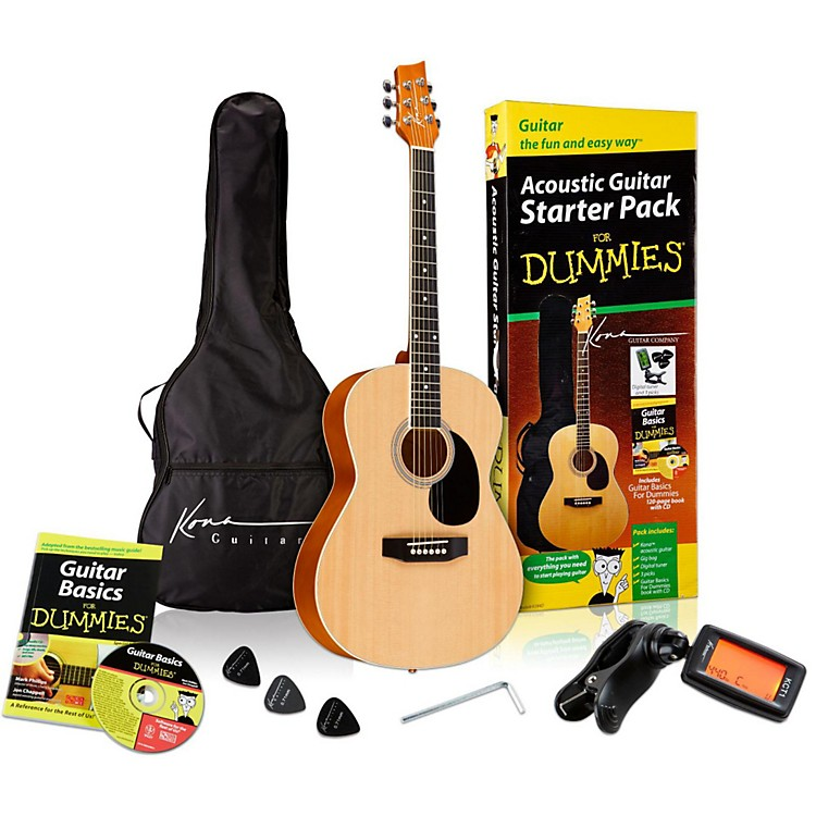 For DummiesAcoustic Guitar For Dummies Starter Package