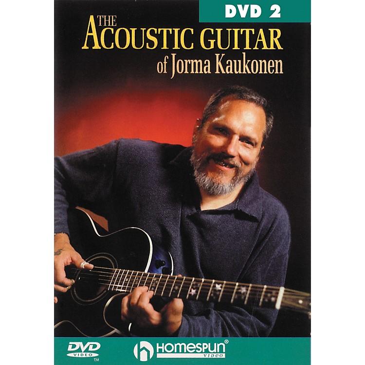 HomespunAcoustic Guitar Jorma Kaukonen 2 (DVD)