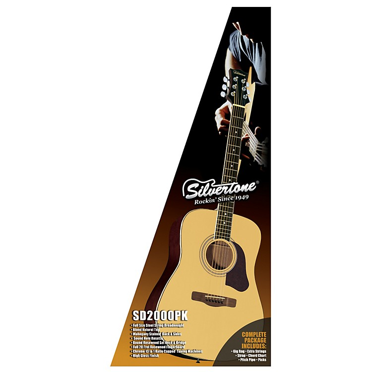 Silvertone Acoustic Guitar Pack
