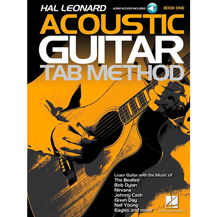 Hal LeonardAcoustic Guitar Tab Method Book 1 Book w/ Online Audio