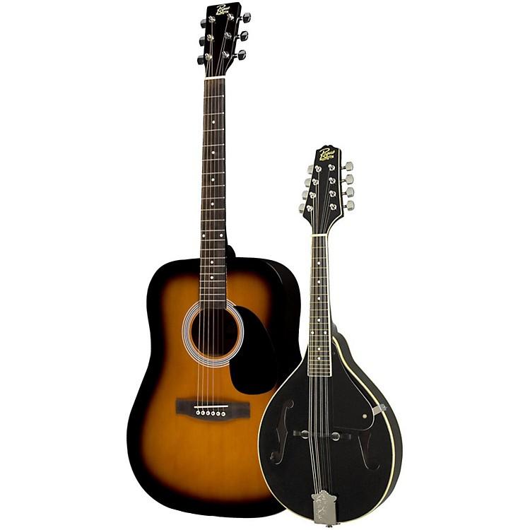RogueAcoustic Guitar and Mandolin PackSunburstBlack