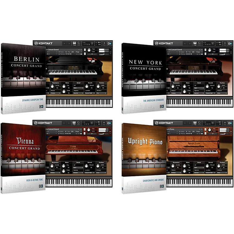 Native Instruments Acoustic Pianos Bundle