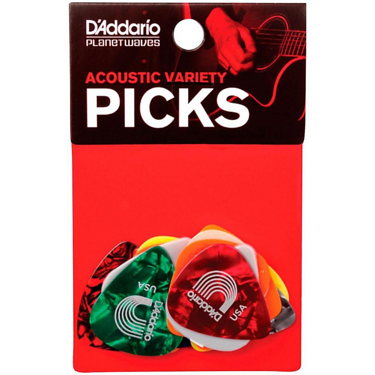 D'AddarioAcoustic Pick Variety 13-Pack
