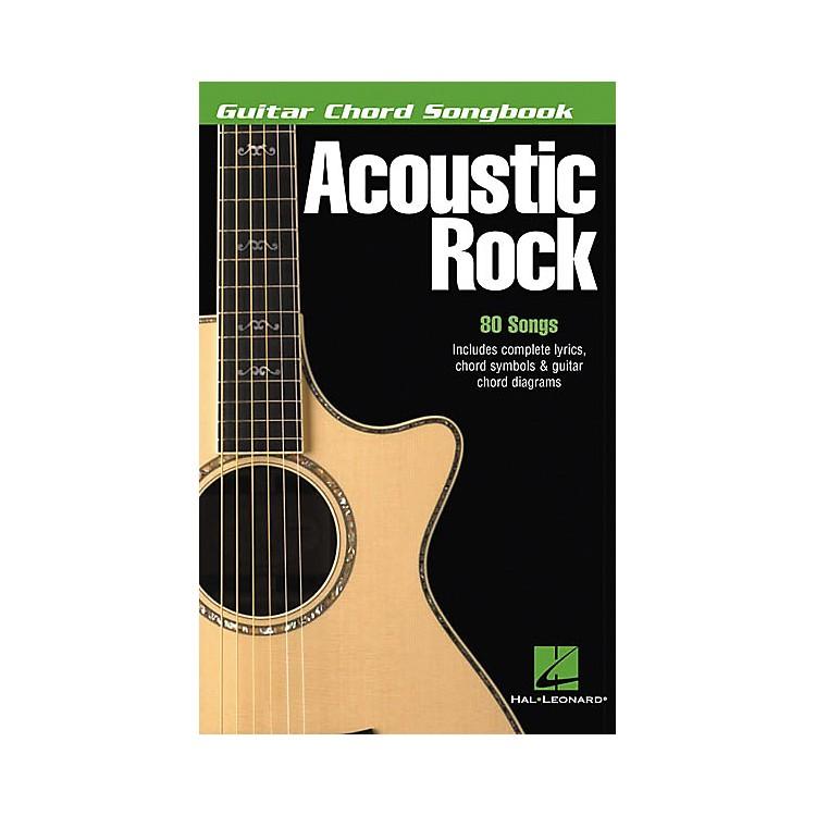 Hal LeonardAcoustic Rock Guitar Chord Songbook