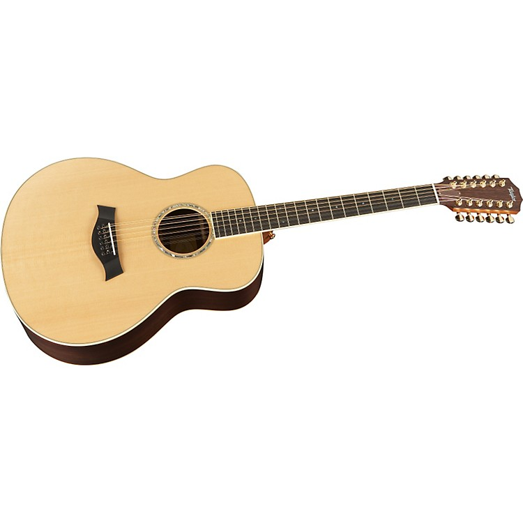 Taylor Acoustic Series GS8-12 Grand Symphony 12-String Acoustic Guitar (2011 Model) Natural