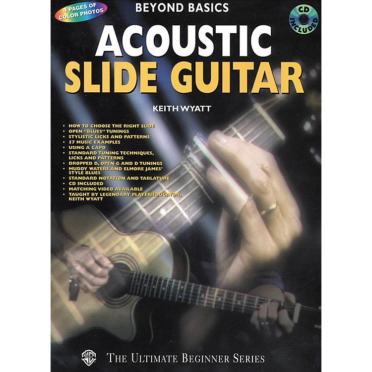 Alfred Acoustic Slide Guitar Book/CD