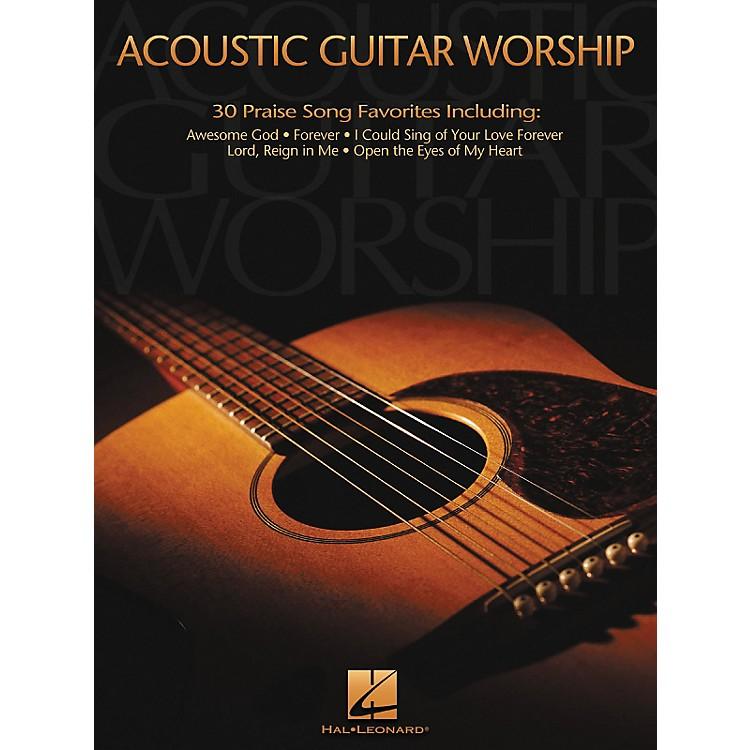 Hal LeonardAcoustic Worship Guitar Songbook