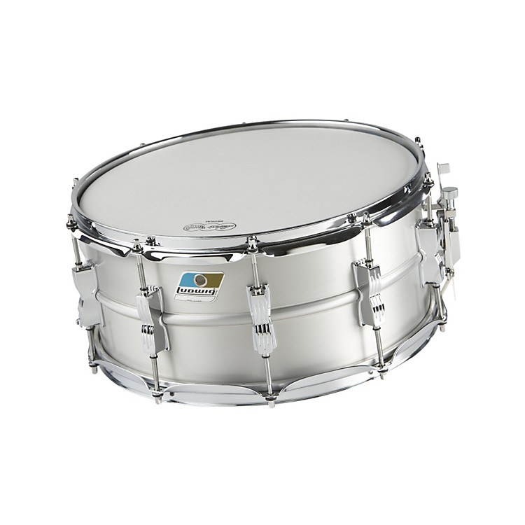 LudwigAcrolite Classic Aluminum Snare DrumMatte Finish6.5x14