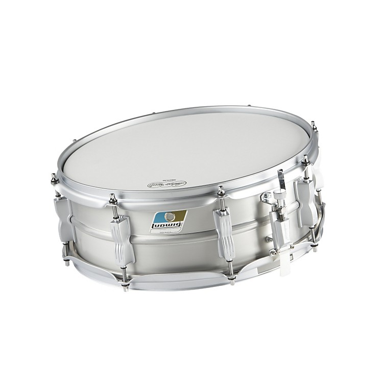 Ludwig Acrolite Limited Edition Aluminum Snare Drum Matte Finish 5x14