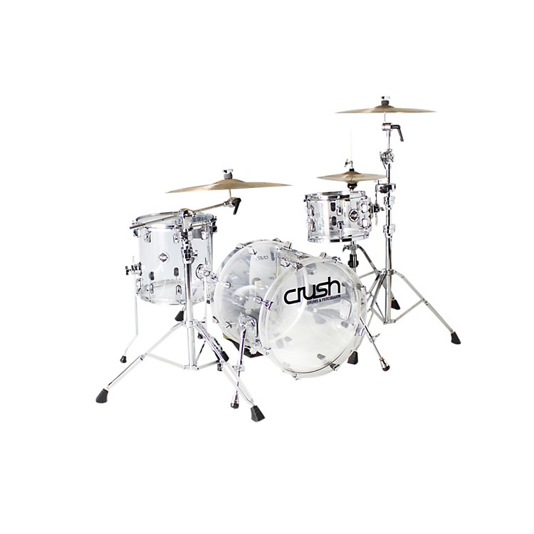 Crush Drums & Percussion Acrylic Series 3-Piece Shell Pack