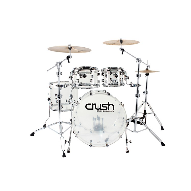 Crush Drums & Percussion Acrylic Series 4-Piece Shell Pack