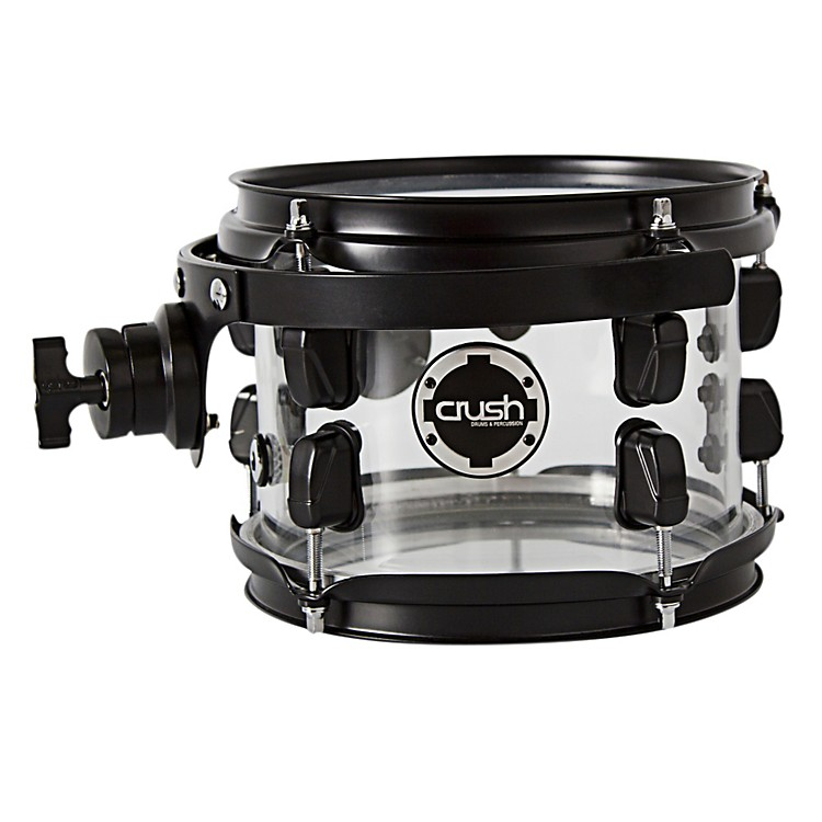 Crush Drums & Percussion Acrylic Series Tom Tom with Holder