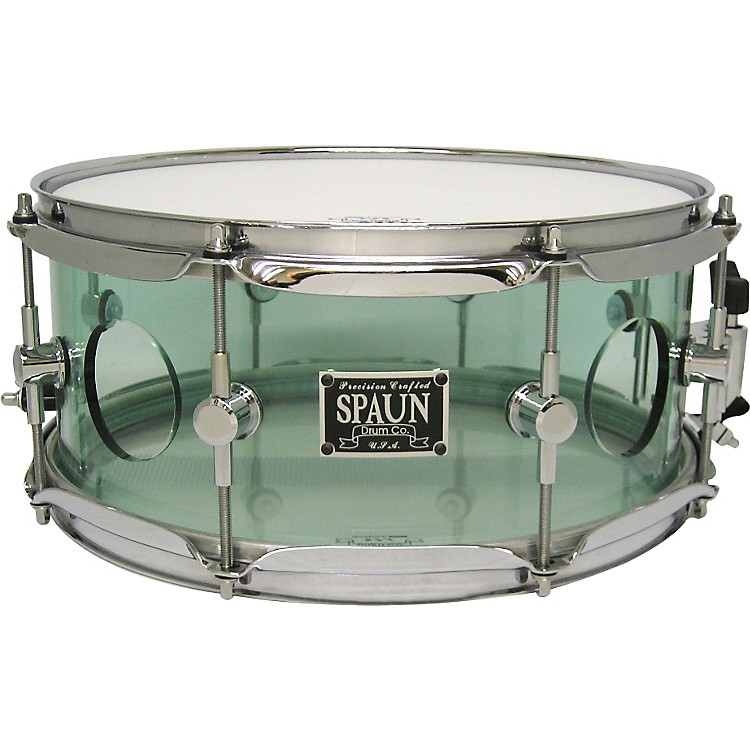SpaunAcrylic Vented Snare DrumCoke Bottle5.5x13 Inches