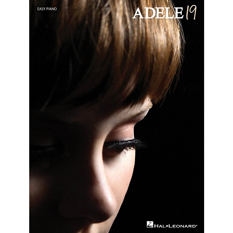 Hal Leonard Adele - 19 For Easy Piano