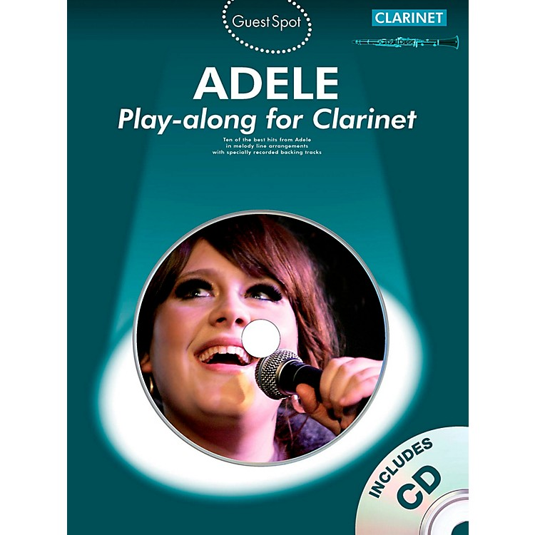 Music SalesAdele Play-Along For Clarinet Book/CD