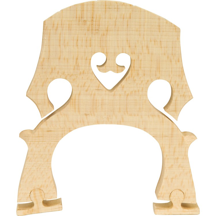 The String Centre Adjustable Cello Bridges 1/2 High