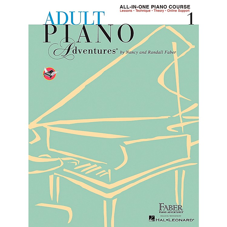 Faber Music Adult Piano Adventures All-In-One Lesson Book 1-A Comprehensive Piano Course - Faber Piano