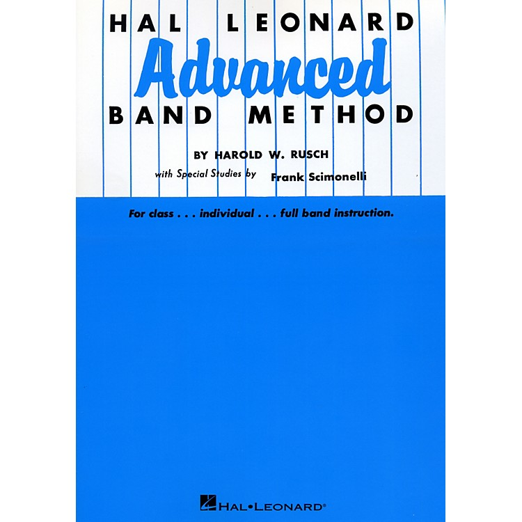 Hal LeonardAdvanced Band Method B Flat Cornet & Trumpet