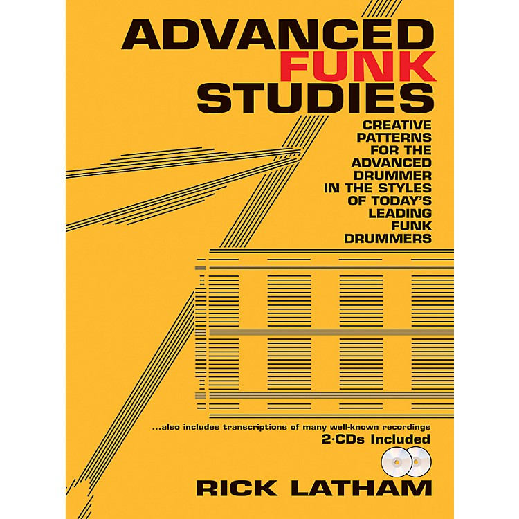 AlfredAdvanced Funk Studies (Book/2 CDs)