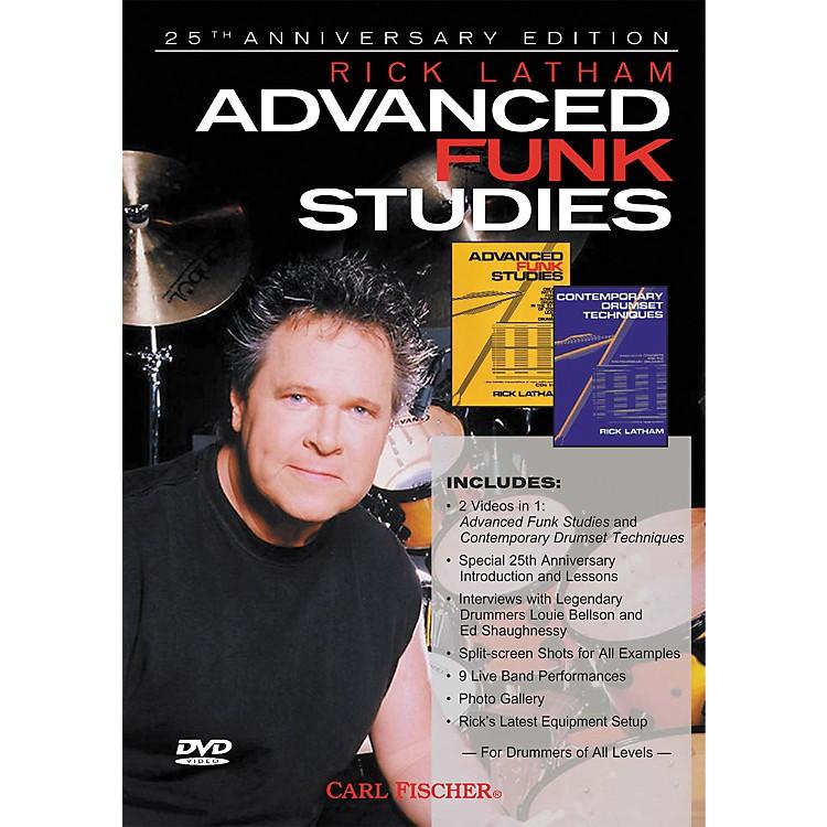Carl FischerAdvanced Funk Studies for Drums (DVD)