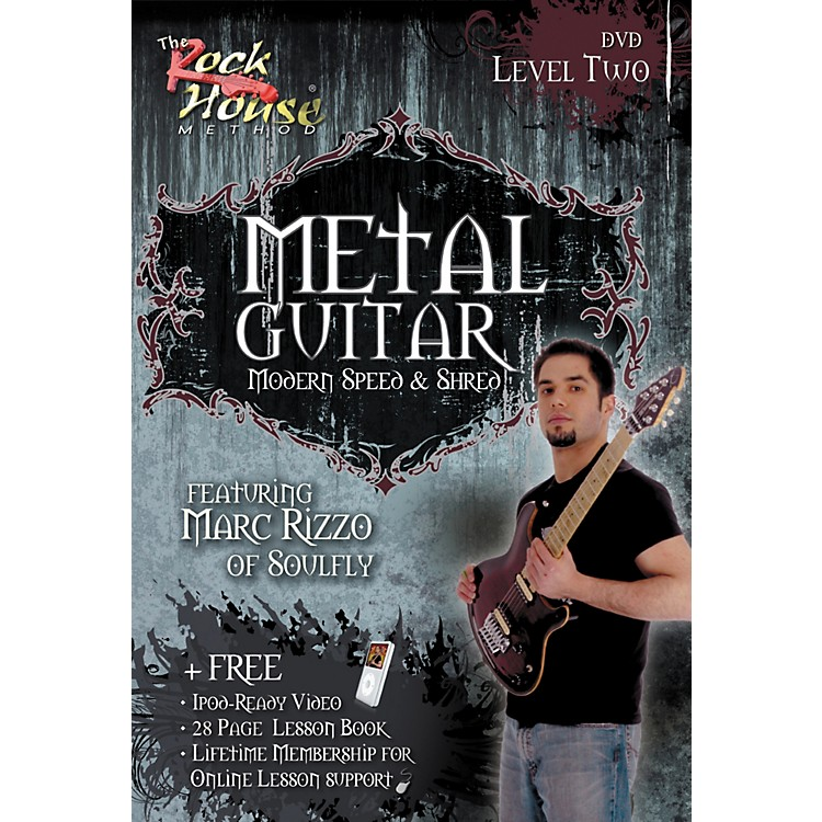 Rock House Advanced Metal Guitar DVD/Book
