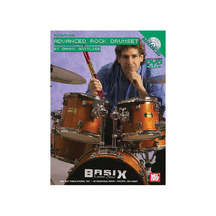 Mel Bay Advanced Rock Drumset DVD and Chart