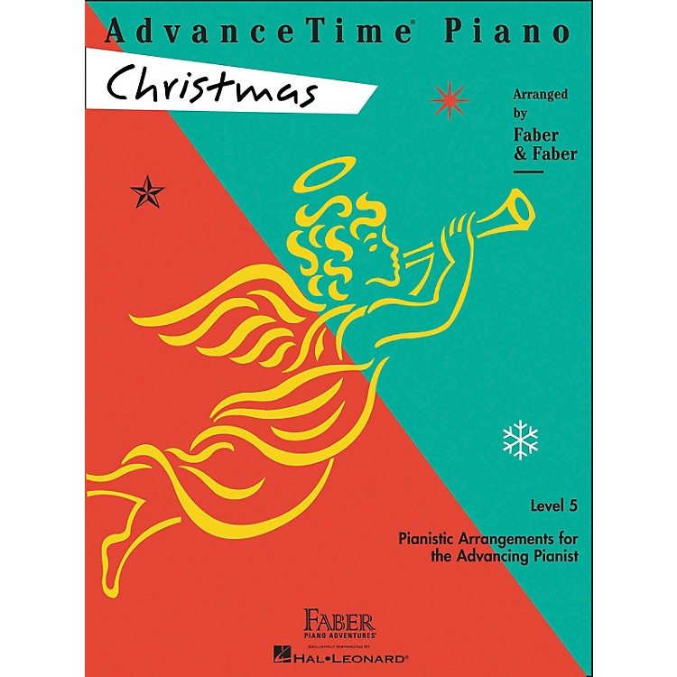 Faber Music Advancetime Piano Christmas Level 5 - Faber Piano