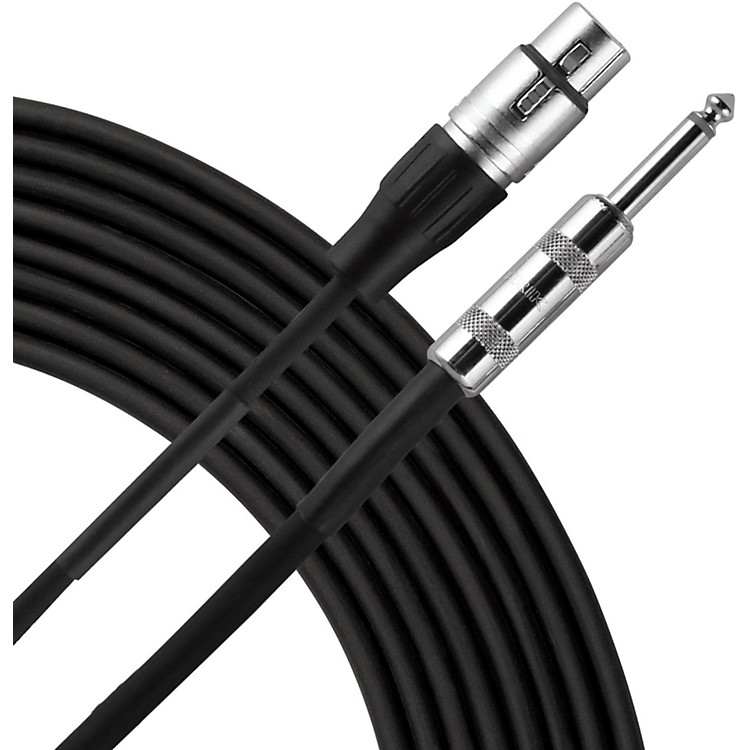 Live Wire Advantage P2H Hi Z Microphone Cable  20 Foot