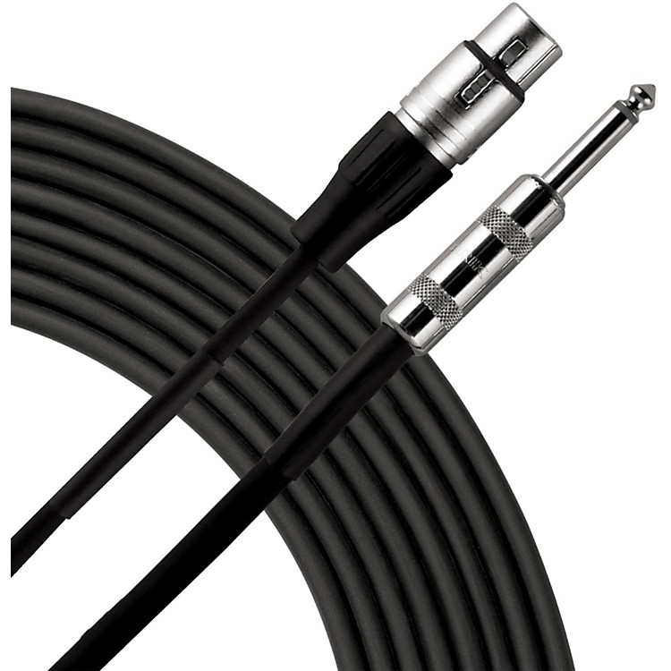 Live Wire Advantage P3H Hi-Z Microphone Cable  20 Foot