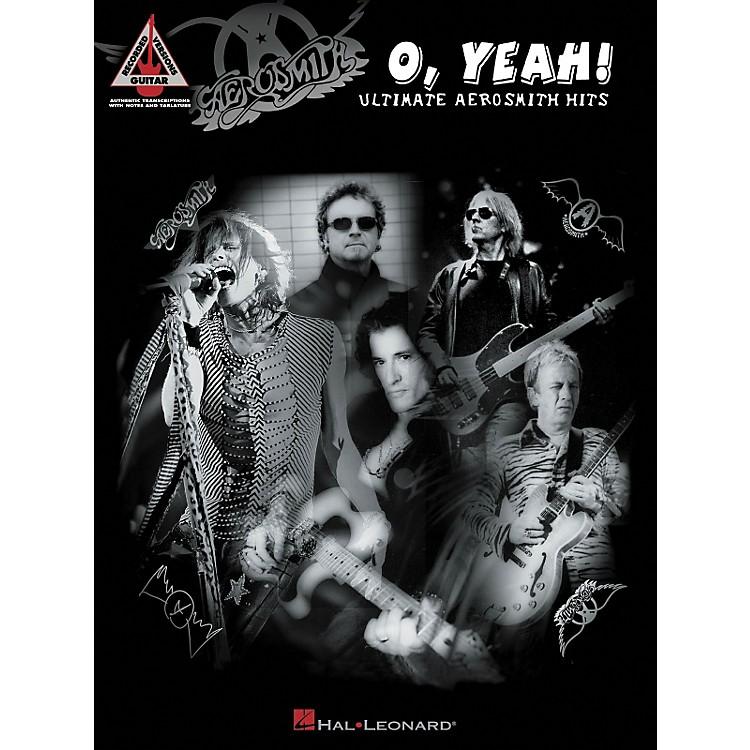 Hal LeonardAeorsmith - O Yeah! Ultimate Aerosmith Hits Guitar Tab Songbook