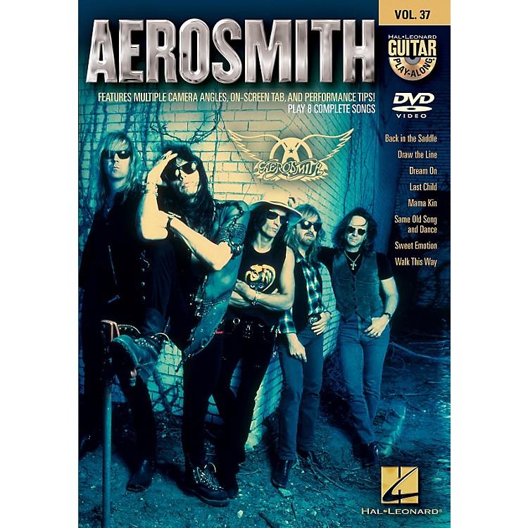 Hal LeonardAerosmith - Guitar Play-Along DVD Volume 37