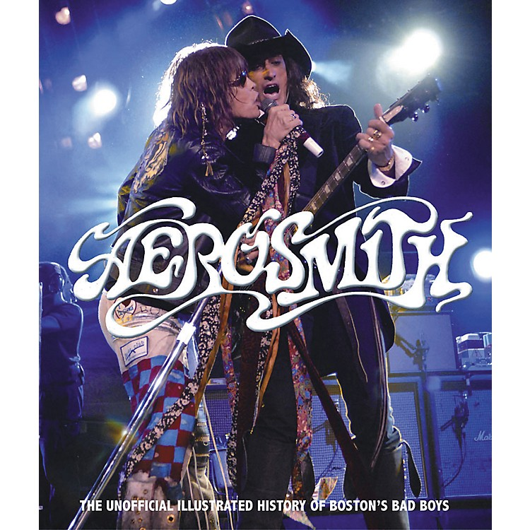 Hal Leonard Aerosmith - The Ultimate Illustrated History Of The Boston Bad Boys Book