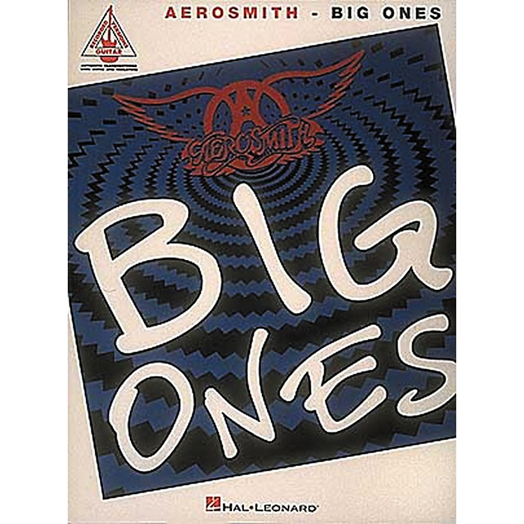 Hal Leonard Aerosmith Big Ones Guitar Tab Songbook