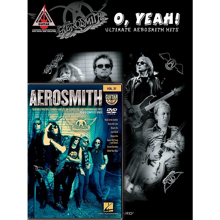 Hal Leonard Aerosmith Guitar Pack Book/DVD