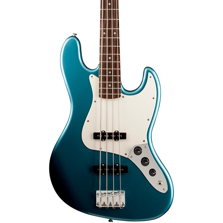 Squier Affinity Jazz Bass, Rosewood Fingerboard Lake Placid Blue Rosewood Fingerboard