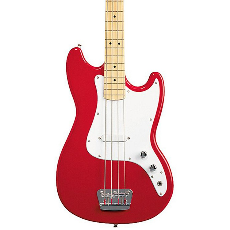 SquierAffinity Series Bronco Bass GuitarTorino Red