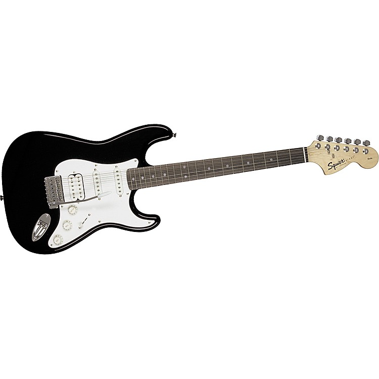 Squier Affinity Series Fat Strat Electric Guitar Black
