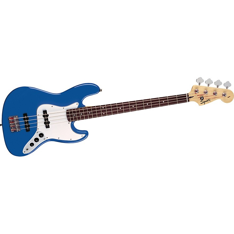 Squier Affinity Series J Bass Metallic Blue Rosewood Fretboard